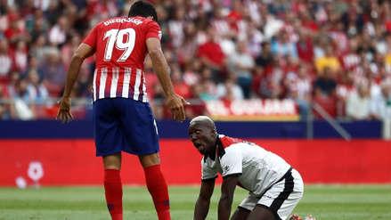 Luis Advíncula tuvo fuerte discusión con Diego Costa en la Liga Española