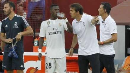 Julen Lopetegui decidió la suerte de Vinicius Junior en el Real Madrid