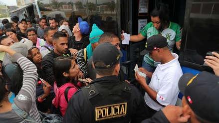 Flujo de venezolanos que llega al Perú se redujo tras la exigencia de pasaporte