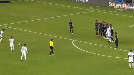 Yordy Reyna metió gol de tiro libre para el Vancouver Whitecaps por la MLS