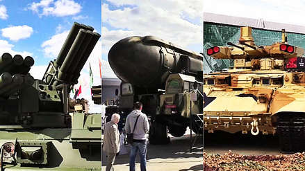 'Tanques del futuro', misiles y vehículos de combate: Rusia exhibe su nuevo armamento ante el mundo