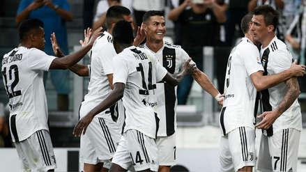 Juventus derrotó a la Lazio pero Cristiano Ronaldo sigue sin anotar