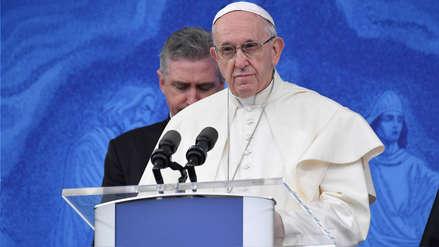 El papa Francisco imploró