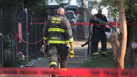 Seis niños y dos adultos murieron en un incendio en Chicago