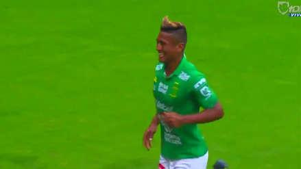 Pedro Aquino marcó su primer gol con León en la Liga MX