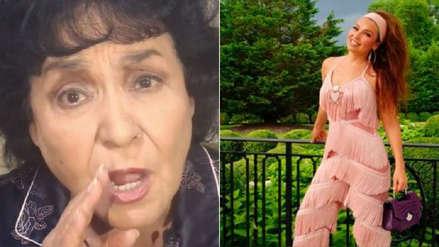 Carmen Salinas causa furor con su peculiar versión del #ThalíaChallenge