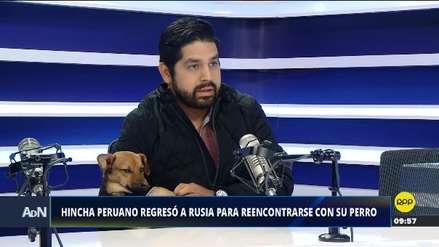 Hincha peruano que regresó a Rusia por su perro quiere abrir un albergue