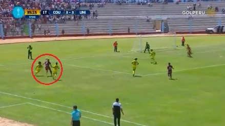 La gran jugada de Juan Vargas para el gol del triunfo de Anthony Osorio