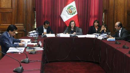 Comisión Lava Jato aprobó conclusiones de cuatro proyectos de informe final