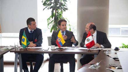 Autoridades migratorias de Brasil, Colombia y Perú se reúnen por situación de venezolanos