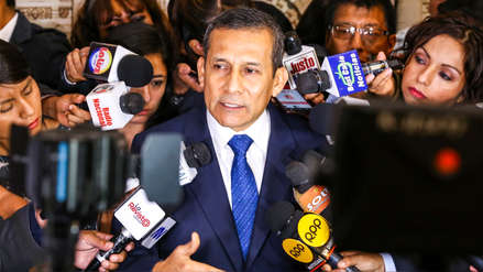 """Humala dijo que la """"reunión secreta"""" con Keiko Fujimori """"deja mal parado"""" a Martín Vizcarra"""