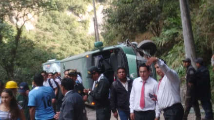 Investigan a empresa por vuelco de vehículo en Machupicchu