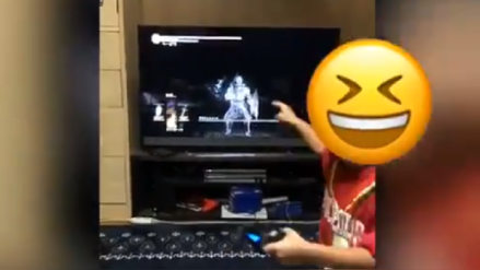 Video: Niño de 5 años derrota jefe de Dark Souls III