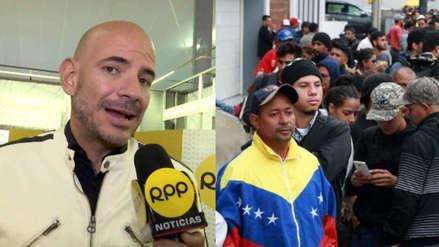 Ricardo Morán lanza un contundente mensaje contra la xenofobia [VIDEO]
