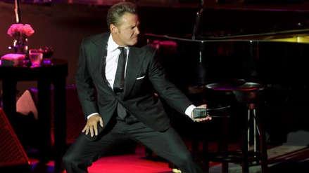 Luis Miguel sufrió un ataque de ira durante concierto en México