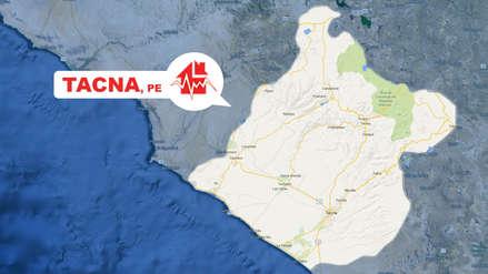 Un sismo de magnitud 4.4 fue registrado esta tarde en Tacna