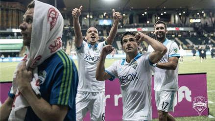 El Seattle de Raúl Ruidíaz ganó por 1-0 al Portland de Andy Polo en la MLS