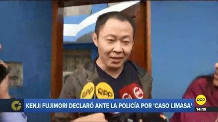Kenji Fujimori declaró ante la Fiscalía por el caso Limasa
