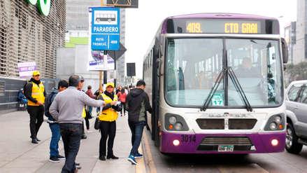 Protransporte inició el funcionamiento del Servicio 409 del Corredor Morado
