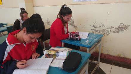 Niñas venezolanas se adaptan sin problemas a sus clases en colegios lambayecanos