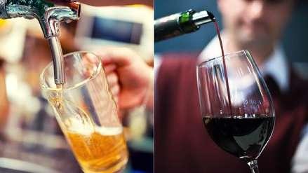 Beber una sola copa de vino o un vaso de cerveza al día es un riesgo para la salud, según estudio