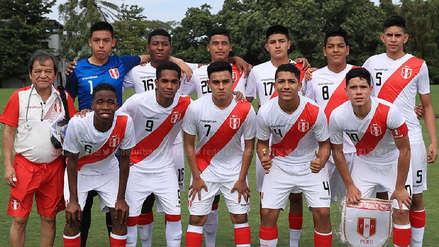 2e9527eedf7e5 Selección Peruana Sub-17 utilizó esta camiseta Marathon en duelo amistoso