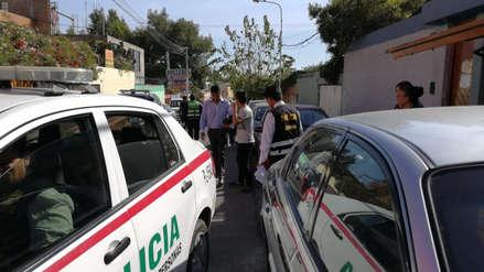 Detienen a madre e hijo por explotar a menor de edad en Arequipa