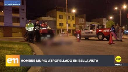 Un hombre murió arrollado esta madrugada en el Callao