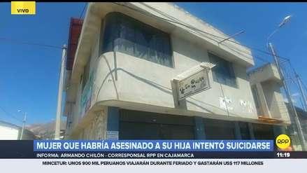 Cajamarca | Una madre mató a su hija de dos años y luego intentó suicidarse