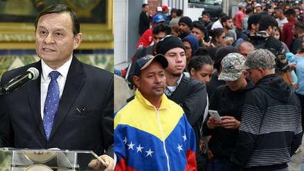 Perú ha recibido más de 120 mil solicitudes de refugio de venezolanos, afirmó canciller
