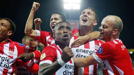 PSV goleó al BATE Borisov y se metió a la fase de grupos de la Champions League