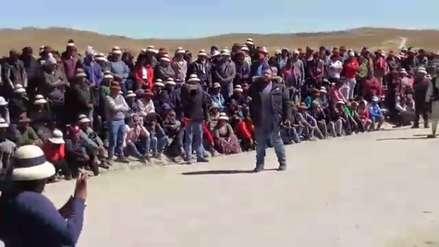 Cusco: Pobladores de Apurímac bloquean corredor minero desde hace 6 días