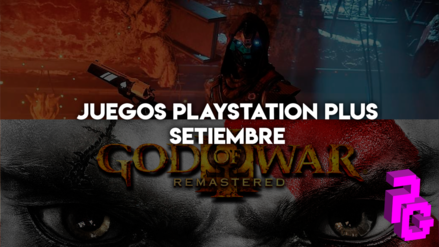 God of War 3 y Destiny 2 para PlayStation Plus en Setiembre