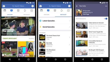 'Watch': el servicio de contenido de videos de Facebook está disponible en todo el mundo
