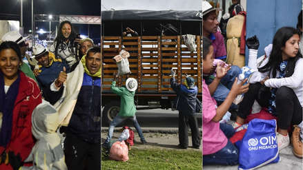 De migrantes a refugiados: la dura travesía de una familia venezolana para llegar al Perú
