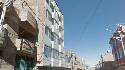 Una suboficial de la Policía cayó desde un cuarto piso en Juliaca