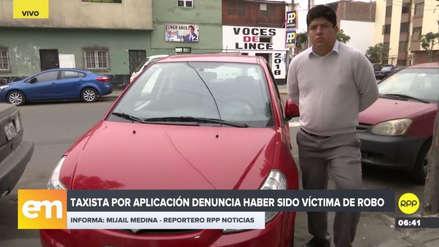 Un conductor de Taxi Beat fue asaltado por pasajeros y la empresa no le da respuesta