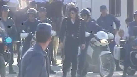 La Policía de España publicó un video inédito grabado con Michael Jackson en 1992
