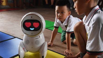 Los robots llegan a las escuelas infantiles de China
