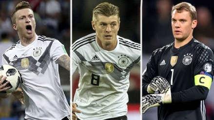Las estrellas de Alemania que enfrentarán a la Selección Peruana