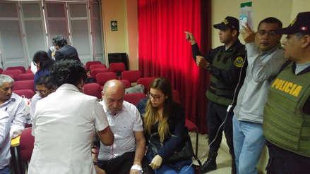 Por segunda vez se frustra audiencia por mal estado de salud de Roberto Torres