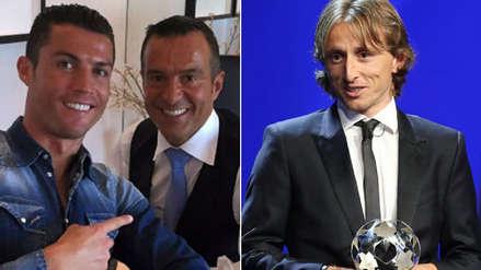 Agente de Cristiano Ronaldo sobre el premio de Modric: