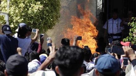 México: Hombres quemados vivos por turba eran campesinos y no secuestradores