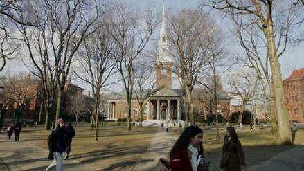 Gobierno de EE.UU. acusa a la Universidad de Harvard de discriminación racial