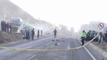 Joven falleció atropellado en carretera de Yura