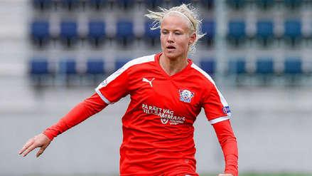Conoce a Pernille Harder, la mejor futbolista del año para la UEFA
