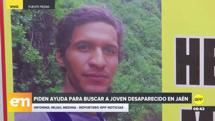 Familia busca desde hace mes y medio a joven desaparecido en Jaén