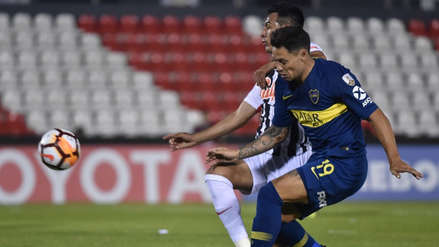 Boca Juniors venció 4-2 a Libertad y avanzó a cuartos de la Libertadores