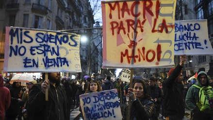 Las universidades públicas se movilizan contra el ajuste económico de Mauricio Macri