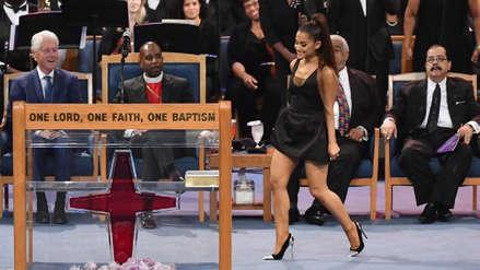 Aretha Franklin: Ariana Grande interpretó